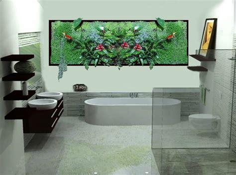 salle de bain plus v 233 g 233 taux photo de cadre vegetal mural grow in design