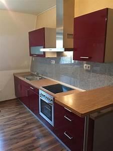 Küche Rot Hochglanz : nobilia kuche hochglanz kaufen gebraucht und g nstig ~ Yasmunasinghe.com Haus und Dekorationen