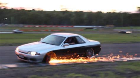 Wheel Falls Off Drift Car