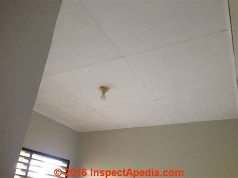 does all acoustic ceiling asbestos asbestos suspect acoustic ceiling tiles cover up exle