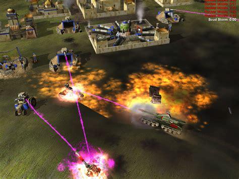 generals conquer command game zero hour games shot rss report