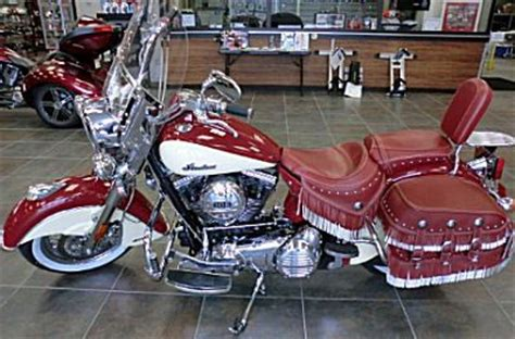 indian motorcycles for sale 2009 indian chief vintage motorcycle with two tone indian and
