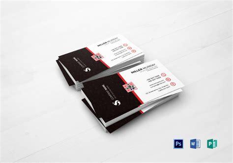 business card templates indesign ai psd word