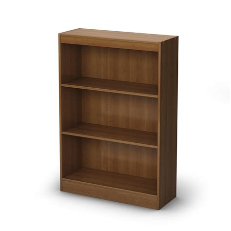 south shore axess 3 shelf bookcase by oj commerce 84 04