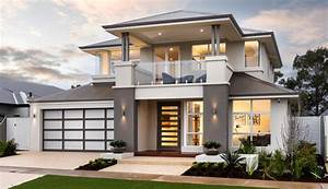 Contemporary Double Storey Residence Home Design