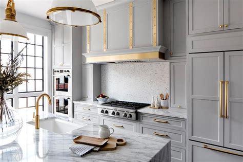white  gold mosaic kitchen backsplash tiles transitional kitchen
