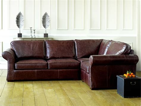 Leather Corner Settee by 301 Moved Permanently
