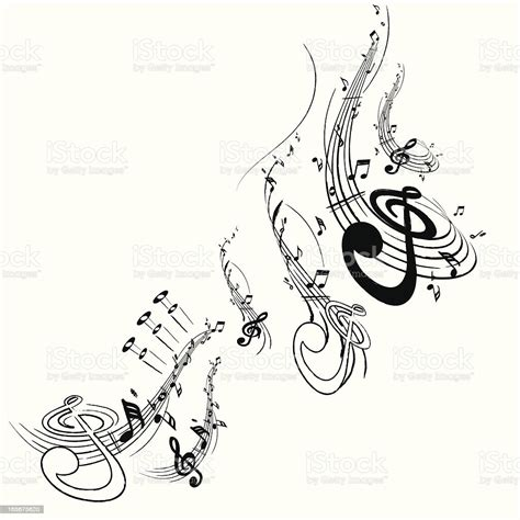 Motif is a music production company specialising in music composition for media. Music Note Motif Stock Illustration - Download Image Now - iStock