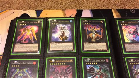My Yugioh Number Card Collection Post Primal Origin Youtube