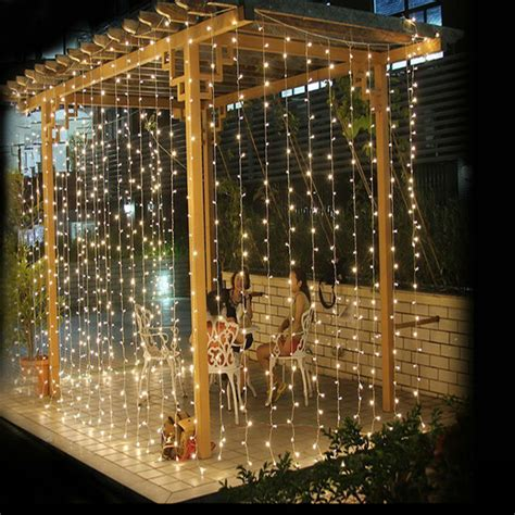 led garland xmas lights aliexpress com buy 3m 3m fairy lights 300 led string