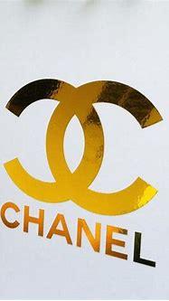 CHANEL Gold Foil CC Monogram Logo Art Print by ...