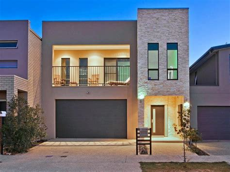 homes with detached garage modern townhouse designs