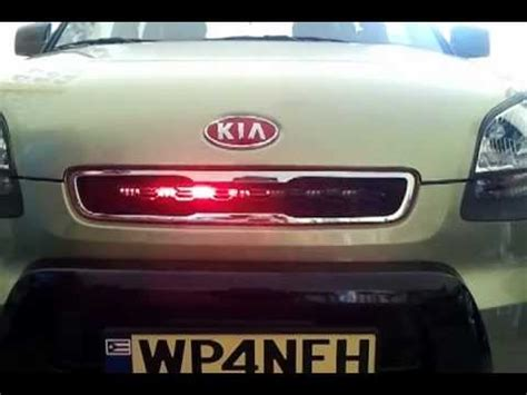 kia soul mate knight rider light youtube