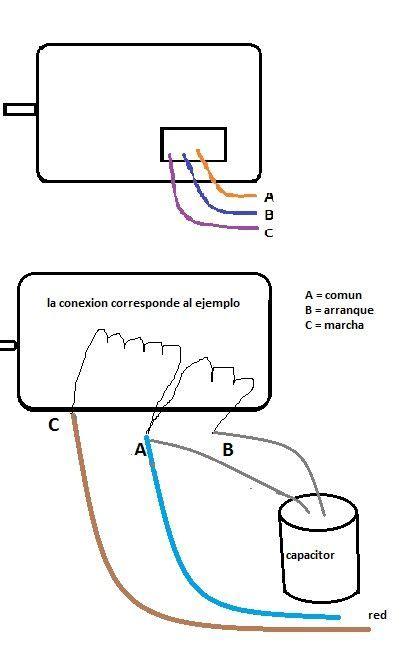 solucionado diagrama para conectar capacitor yoreparo tecnica in 2019 bombas de agua