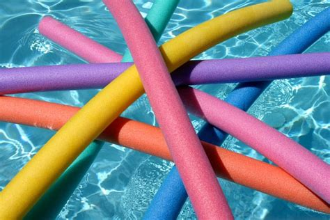 Using Water Noodles To Learn How To Swim