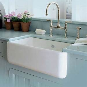 rohl rc3018 white 30quot handcrafted single basin fireclay With 30 apron front sink white