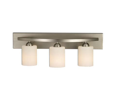 menards bathroom vanity lights patriot lighting 174 bentley 3 light gu24 24 quot brushed pewter