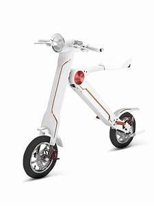 Scooter Electrique 2018 : mini scooter lectrique r tro futuriste 2018 pliable ~ Medecine-chirurgie-esthetiques.com Avis de Voitures