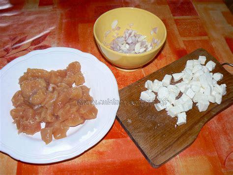 une cuisine pour voozenoo cake aux blancs de poulet chignons et mozzarella une