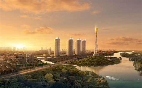 City Skyline, 3d Architectural Renderings Pictures 10