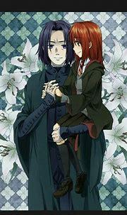 Snape x Lily   Harry potter anime, Harry potter, Hình gif