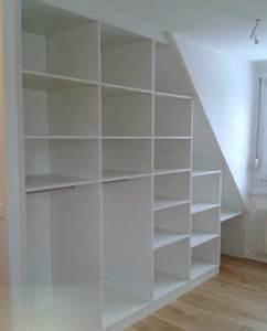 Sous Verre Sur Mesure : placard et meuble sous pente sur mesure le kiosque ~ Melissatoandfro.com Idées de Décoration