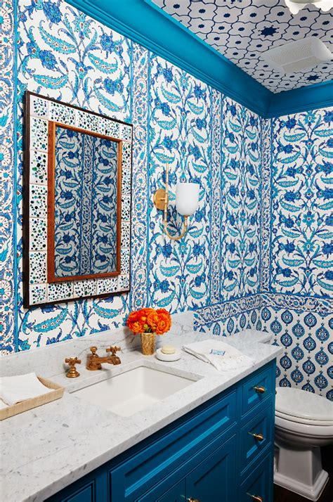 blue  white beach house design home bunch interior