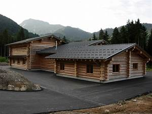 couverts professionnels maison bois rond With type de toiture maison 16 batiments annexes maison bois rond