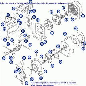 Warn A2000 Winch Parts Diagram