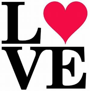 LOVE stencil heart word stencil art décor wall painting