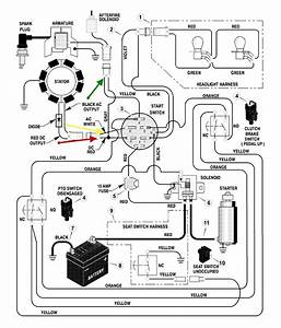 I Need Help With Wiring A Replacement Engine  Mower Is