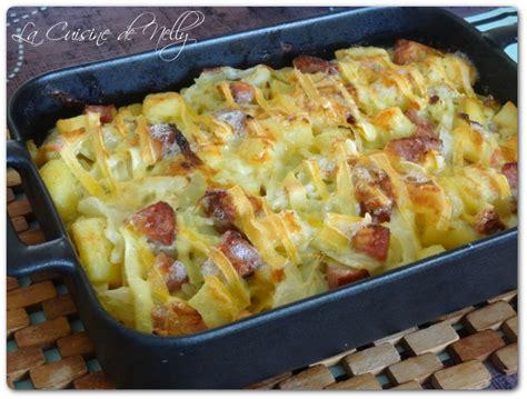 cuisiner une saucisse de morteau gratin de chou saucisse de morteau pommes de terre et