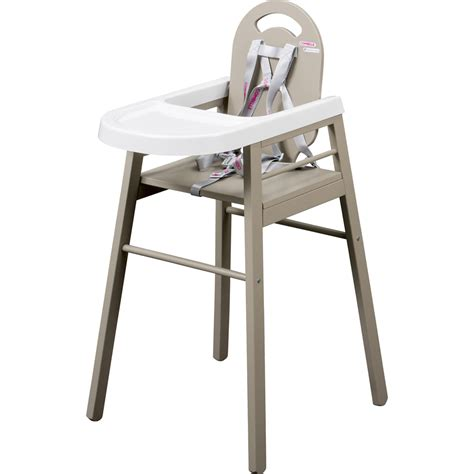 chaise haute b 233 b 233 lili gris de combelle en vente chez cdm