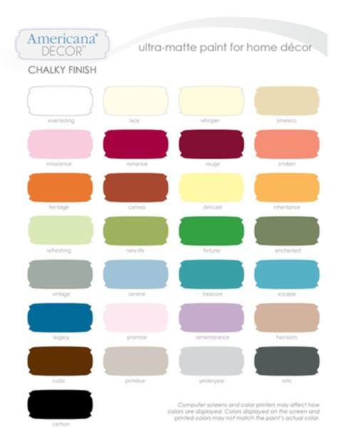 americana decor chalky finish paint colors chalk paint chalky finish tant gr 228 ddelin