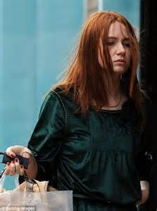 1 Doctor Who Star Karen Gillan Has A Bad Hair And Dress Day