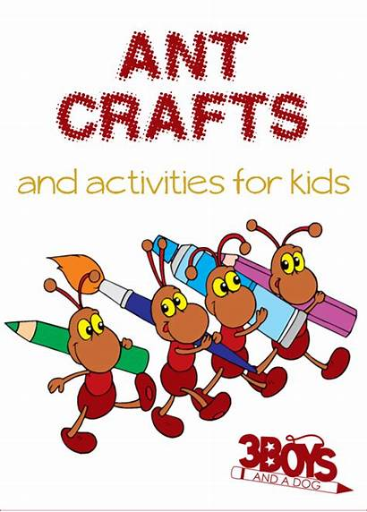 Ant Activities Crafts Themed Craft Ants Science