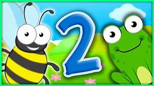The Number 2 | Number Songs By BubblePopBox | Learn The ...  2