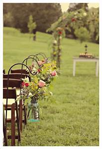 outdoor ceremony decor eye candy country wedding With outdoor wedding ceremony decorations