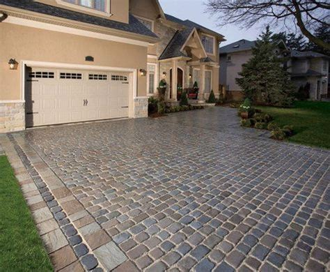 ideas for a driveway 88 cool paving stone driveway design ideas 88homedecor