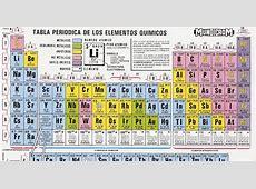 tabla periodica esos microbios tablas periodicas mundicrom - La Tabla Periodica Moderna Pdf