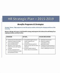 hr strategy With human resources strategic planning template