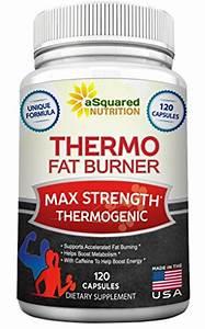 Pure Thermogenic Fat Burner Supplement - 120 Capsules