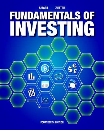Test Bank for Fundamentals of Investing 14th Edition Smart