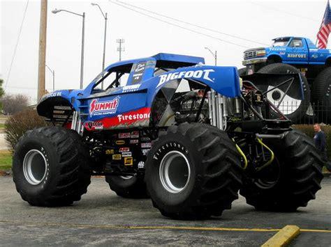 firestone bigfoot monster truck bigfoot 18 desert truck meets monster truck