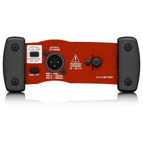 Behringer Am100 Uf 100 behringer gi100 ultra g aktive di box gear4music