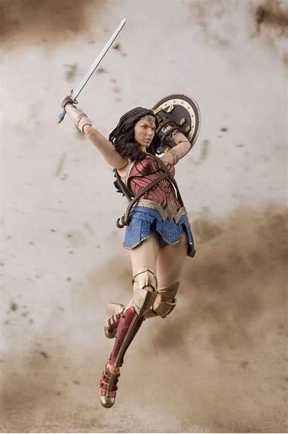 Wonder Woman Figurine Jl Bandai Comics Dc