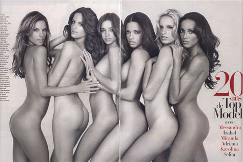 Victoria Secret Models Pose Nude For Photos Anniversary