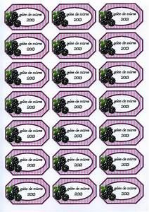 Mes étiquettes Gratuites à Imprimer : gel e de m res 2013 etiquettes de confiture imprimer ~ Nature-et-papiers.com Idées de Décoration