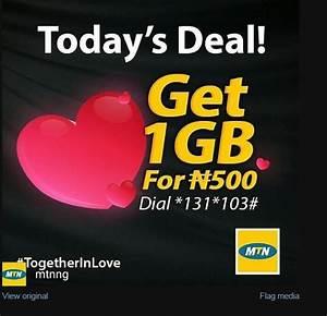 MTN Valentine Data Offer - Phones - Nigeria