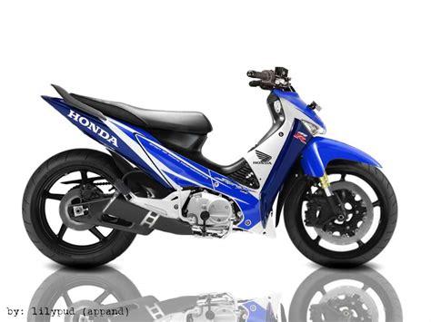 Variasi Motor Supra X 125 by Gambar Modivikasi Motor Foto Modivikasi Supra X 125 R